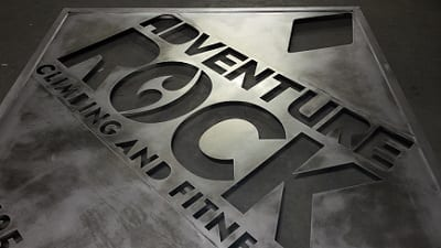 New Monument Sign for Adventure Rock