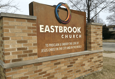 Church Sign Gets Facelift