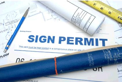 sign permit