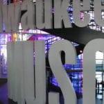 Freestanding exhibit sign
