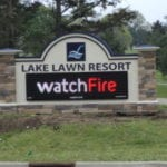 Custom signage for resorts