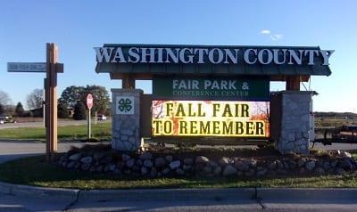 Fairgrounds Get Major Sign Upgrade
