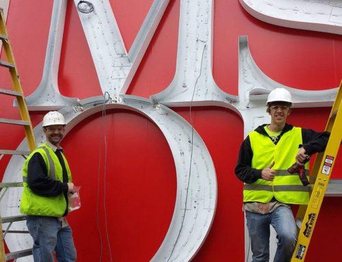 New Building Identification Sign Wins WSA Award