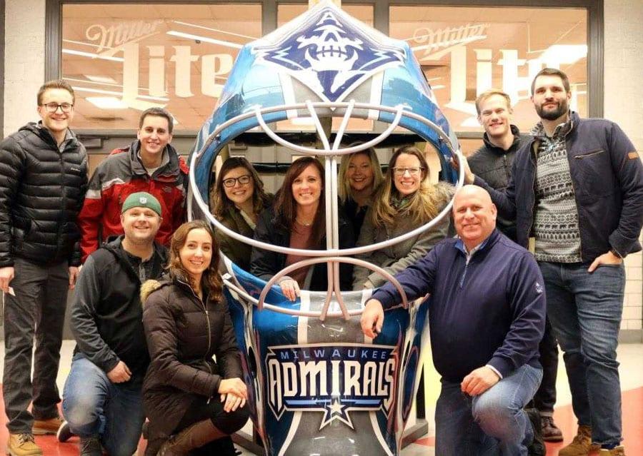 large hockey helmet milwaukee