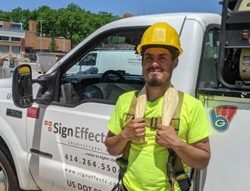 Meet Our New Sign Installation Technician