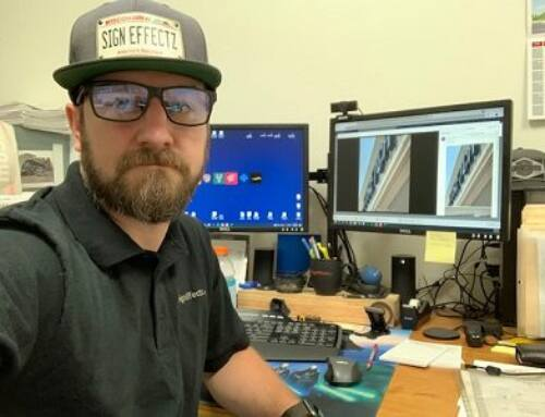 Sign Installation Technician Tackles New Role
